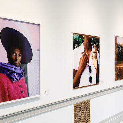 """Tyler Mitchell """"Untitled, (Hat)"""" 2018 - 2019."""